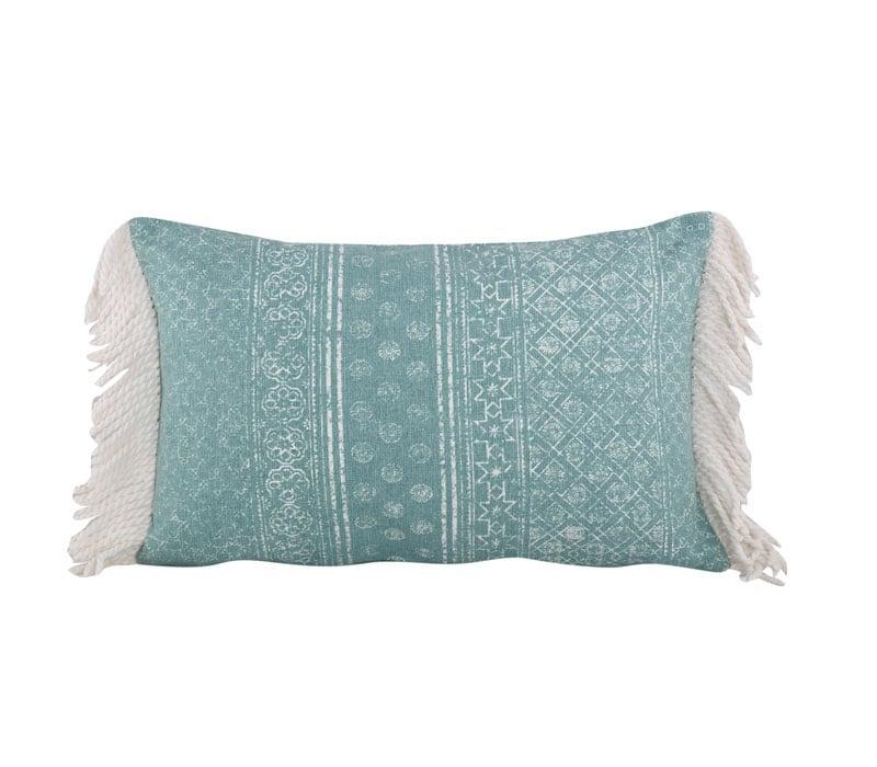 Μαξιλάρι Διακοσμητικό (Με Γέμιση) Lincoln Petrol Nef-Nef 30Χ50 100% Polyester