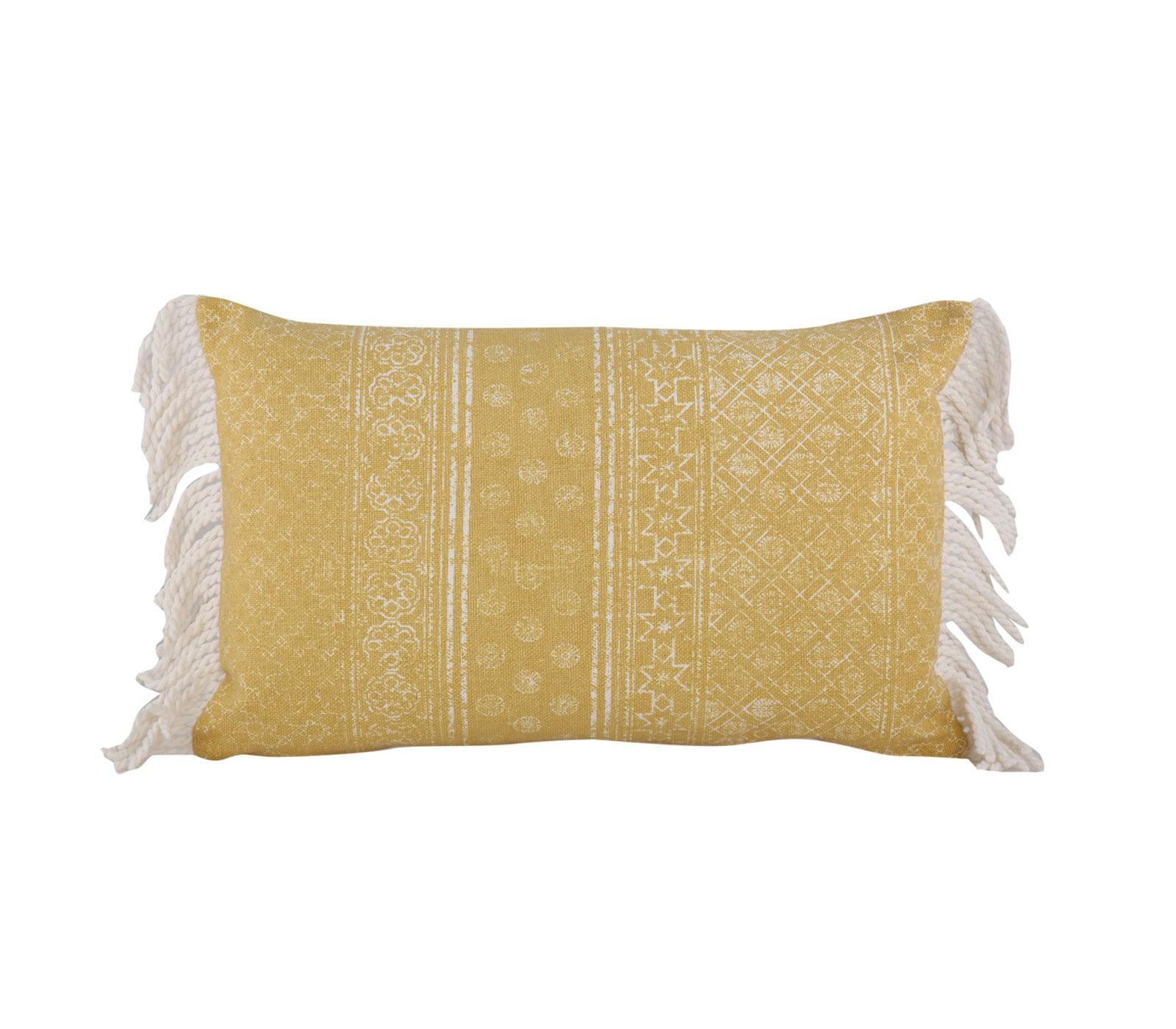Μαξιλάρι Διακοσμητικό (Με Γέμιση) Lincoln Yellow Nef-Nef 30Χ50 100% Polyester