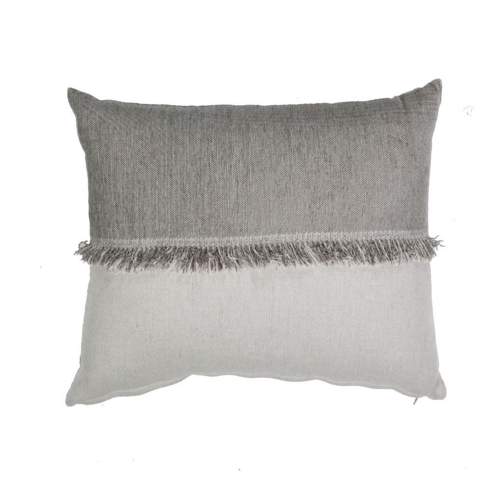 Μαξιλάρι Διακοσμητικό (Με Γέμιση) Nature Grey-Ecru Nef-Nef 40Χ60 100% Polyester