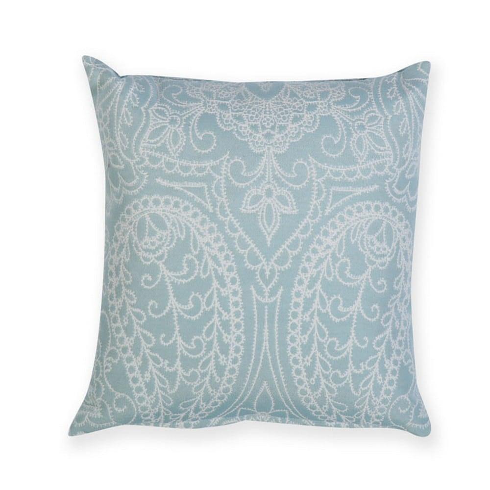 Μαξιλάρι Διακοσμητικό (Με Γέμιση) Victoria Aqua Nef-Nef 40Χ40 100% Polyester