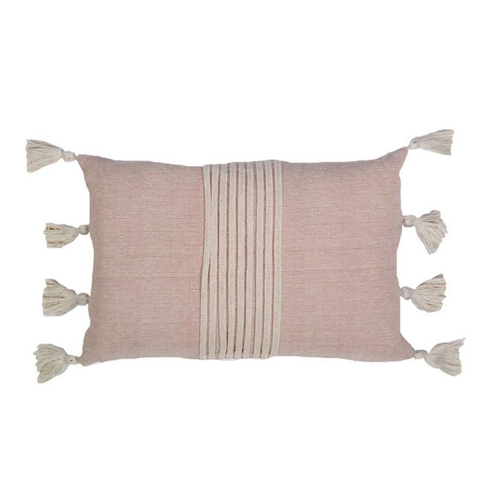 Μαξιλάρι Διακοσμητικό (Με Γέμιση) Willa Pink Nef-Nef 30Χ50 100% Polyester
