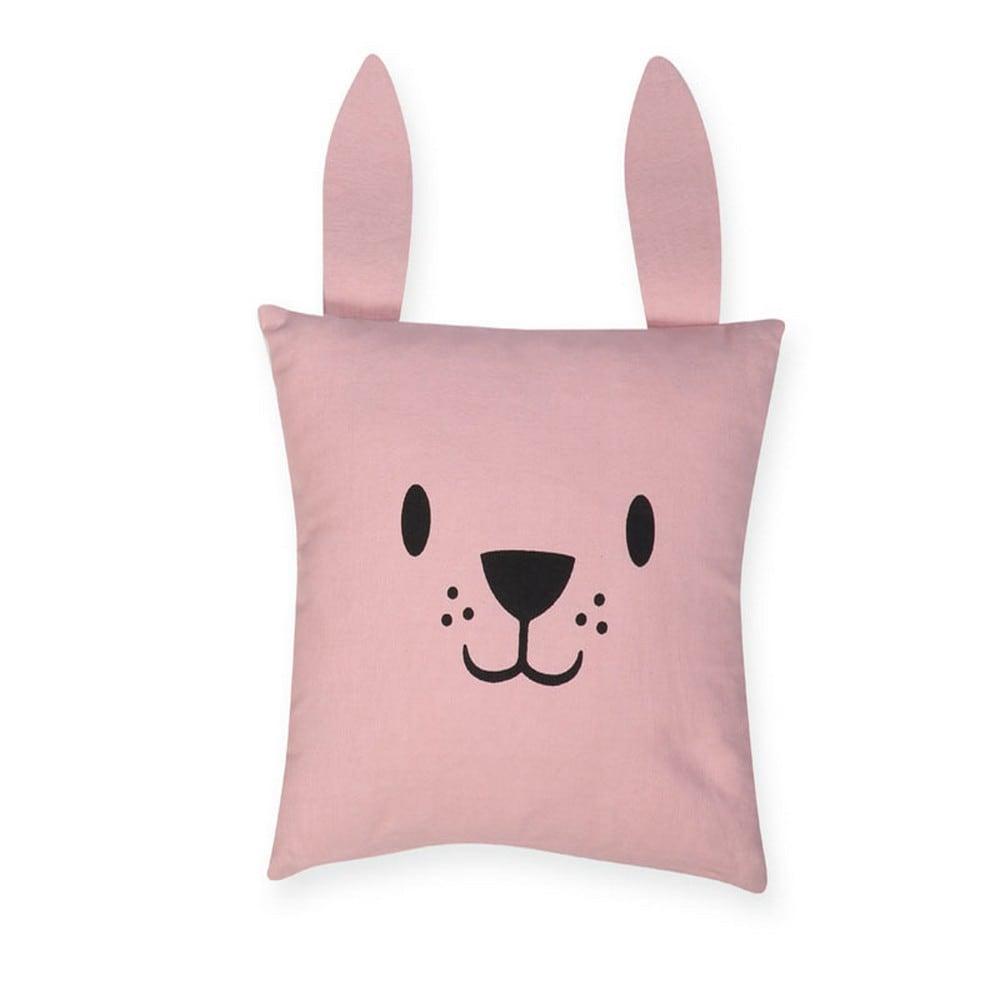 Μαξιλάρι Διακοσμητικό (Με Γέμιση) Παιδικό Cat Pink Nef-Nef