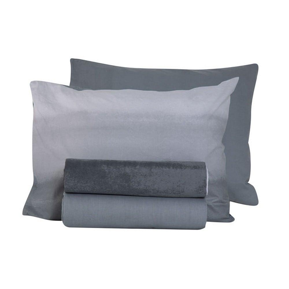 Μαξιλαροθήκη Ocean Grey Nef-Nef 52X72 52x72cm