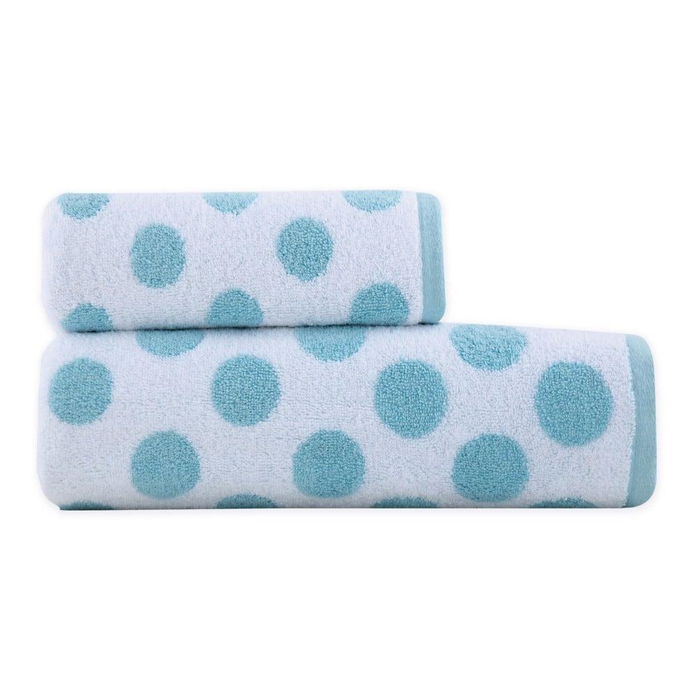 Πετσέτα Dots Blue Nef-Nef Προσώπου 50x90cm