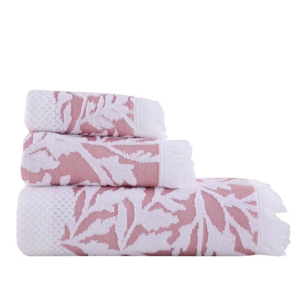 Πετσέτα Harriet Pink Nef-Nef Προσώπου 50x90cm