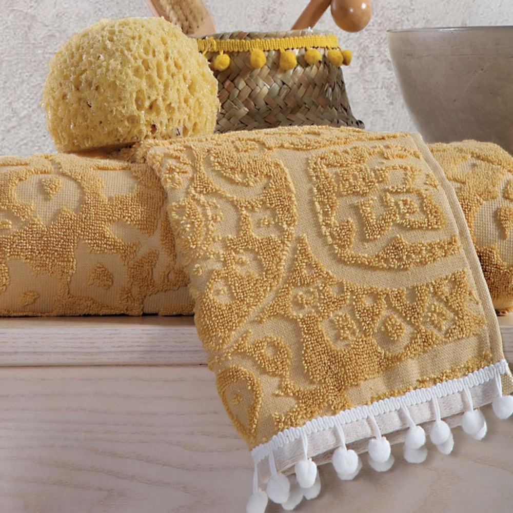 Πετσέτα Orville Mustard Nef-Nef Σώματος 70x140cm
