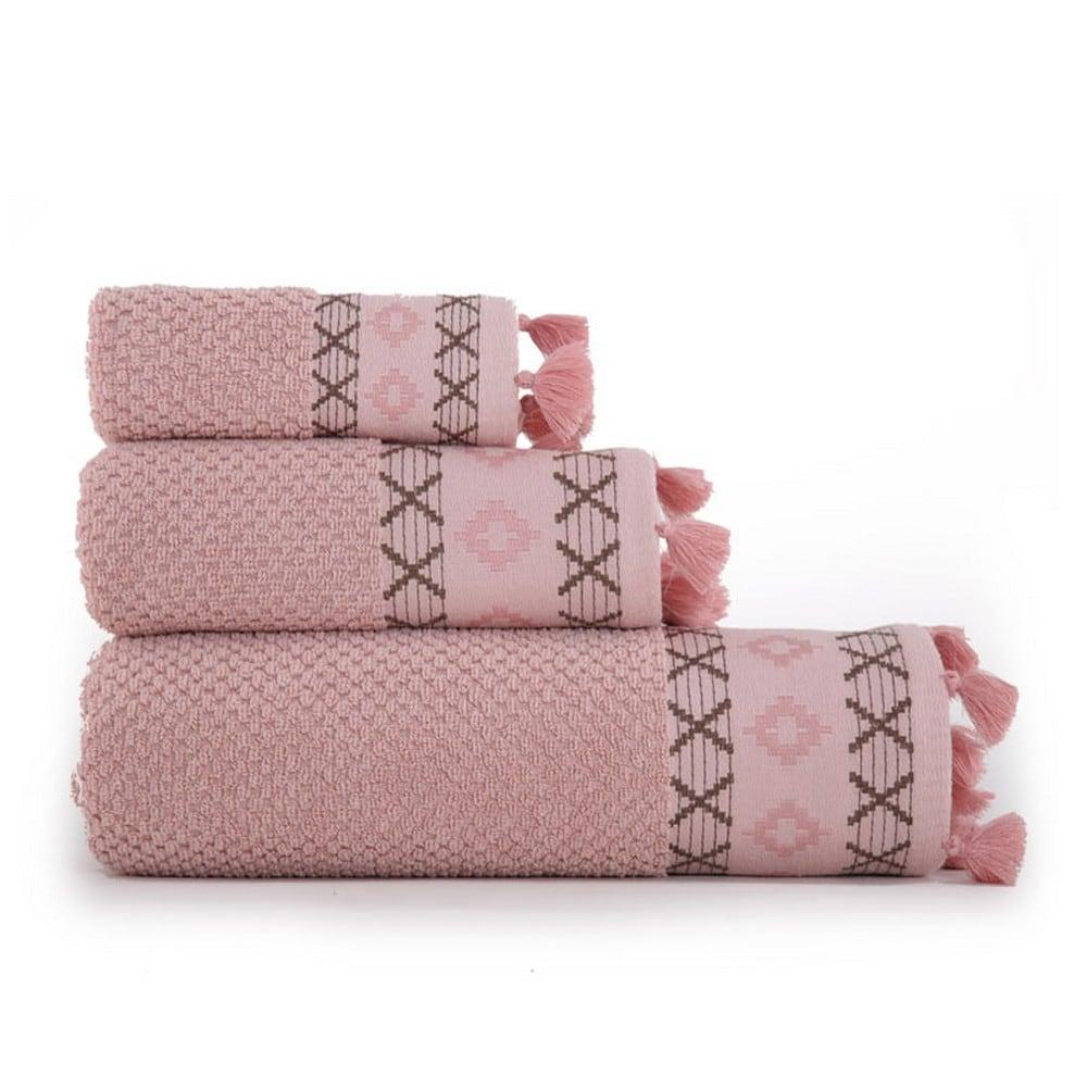 Πετσέτα Perez Pink Nef-Nef Προσώπου 50x90cm