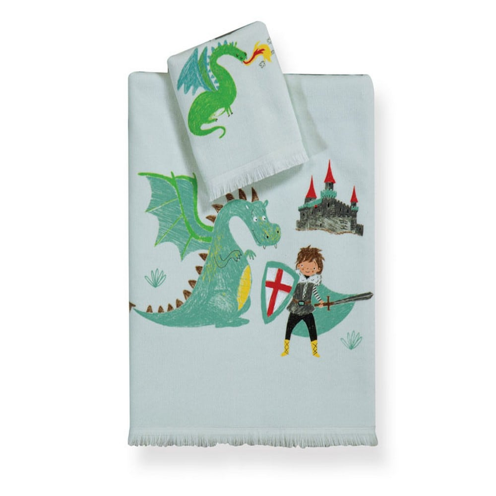 Πετσέτα Παιδική Knight Tales Σετ 2τμχ Multi Nef-Nef Σετ Πετσέτες