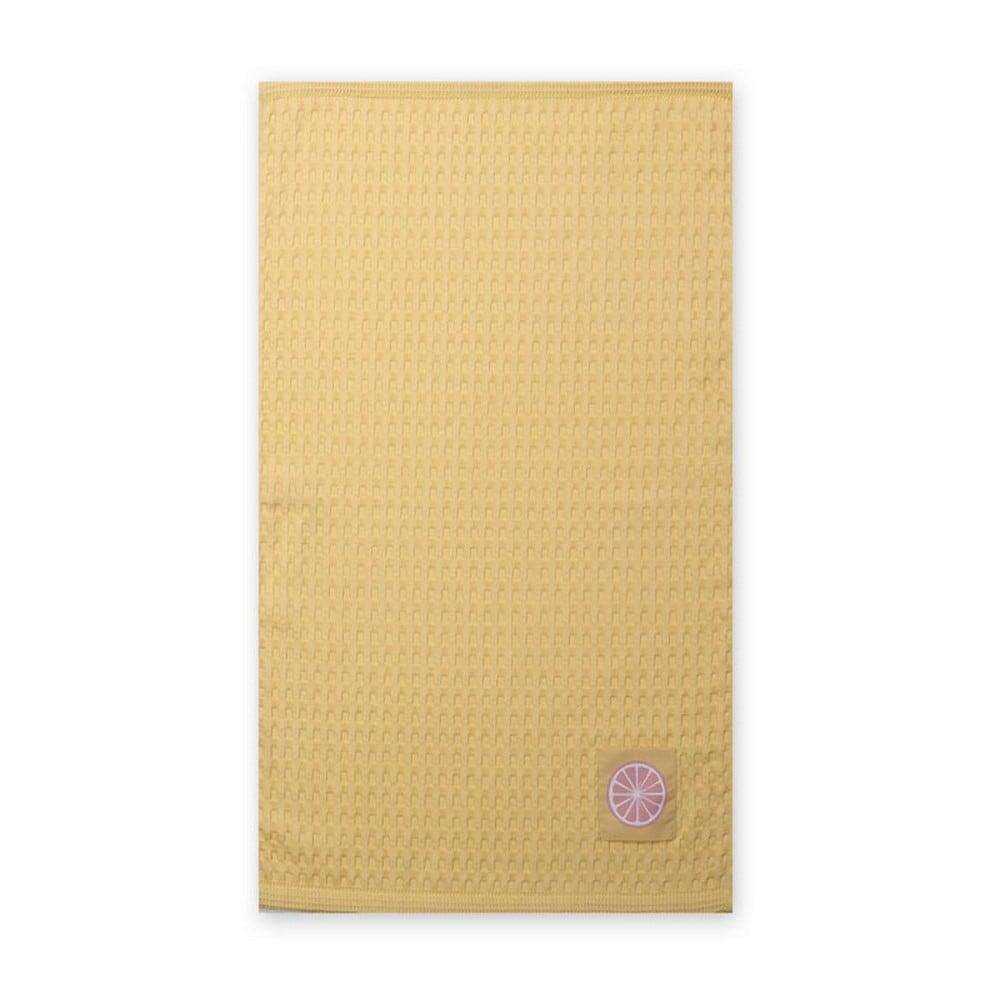 Ποτηρόπανο Πικέ Juicy Yellow Nef-Nef 45x68cm