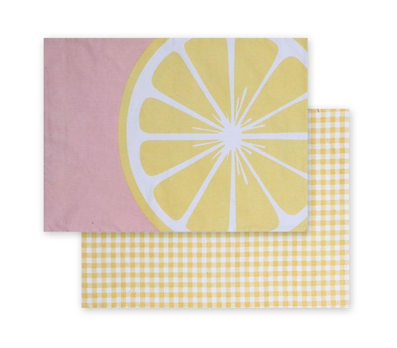 Σουπλά Juicy Pink-Yellow Nef-Nef 33x48cm