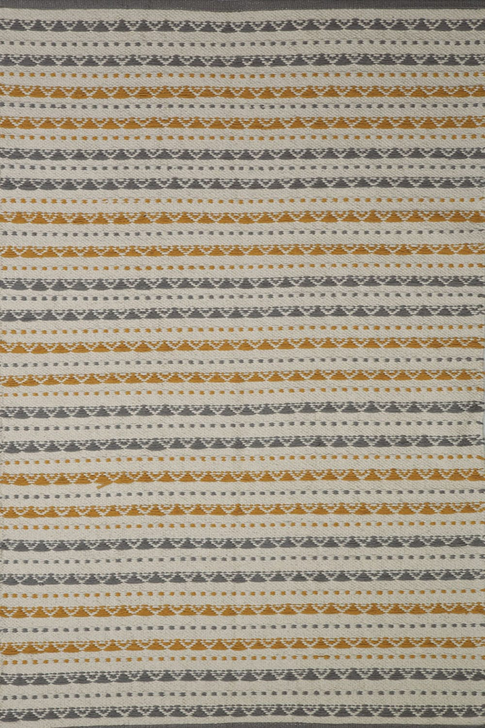 Χαλάκι Haiman Grey-Yellow Nef-Nef 70X150 70x140cm