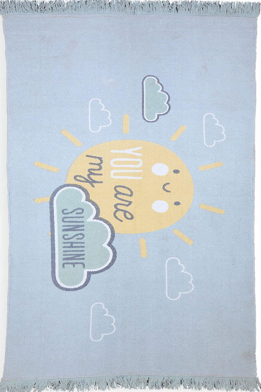 Χαλάκι Παιδικό Sunshine Ciel-Yellow Nef-Nef 70X150 70x140cm