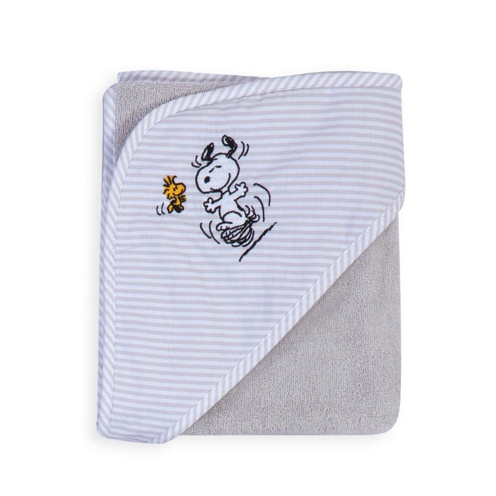 Κάπα Βρεφική Snoopy World Grey Nef-Nef 0-2 ετών One Size