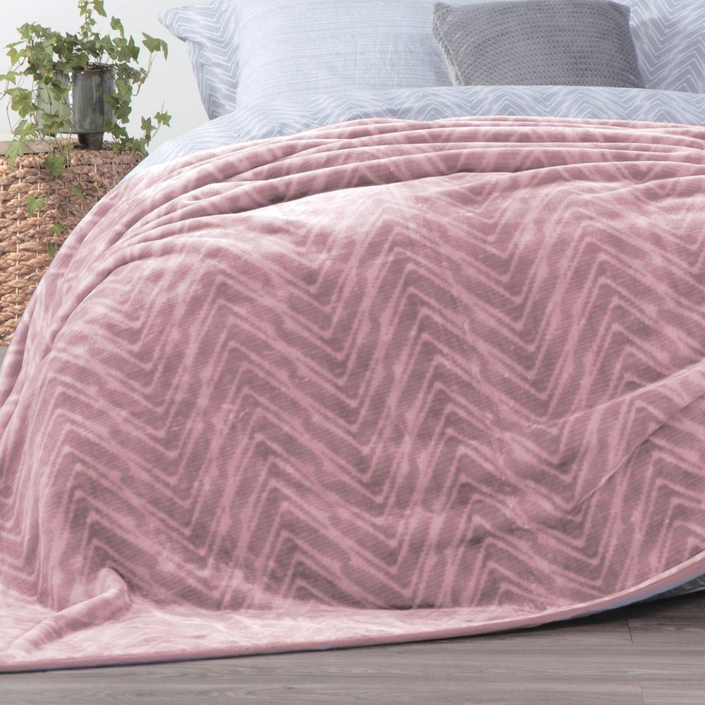 Κουβέρτα Visual Pink Nef-Nef Μονό 160x220cm