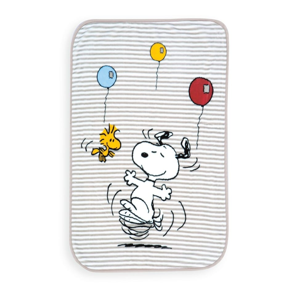 Κουβέρτα Βρεφική Snoopy World Beige Nef-Nef Κούνιας 100x140cm