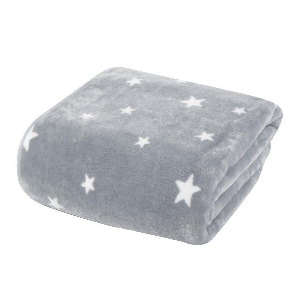 Κουβέρτα Βρεφική Stellar Grey Nef-Nef Αγκαλιάς 75x100cm