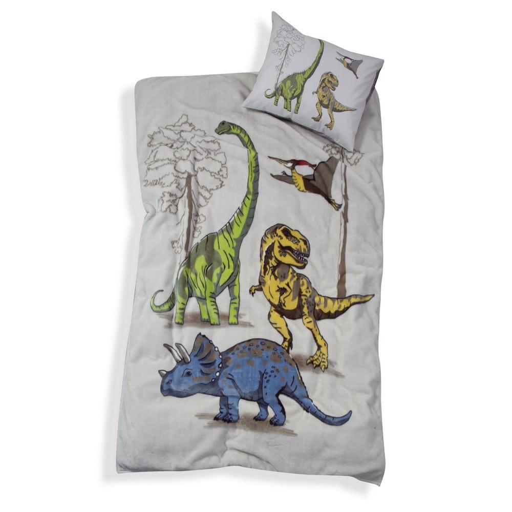 Κουβέρτα Παιδική Jurassic Beige Nef-Nef Μονό 160x220cm