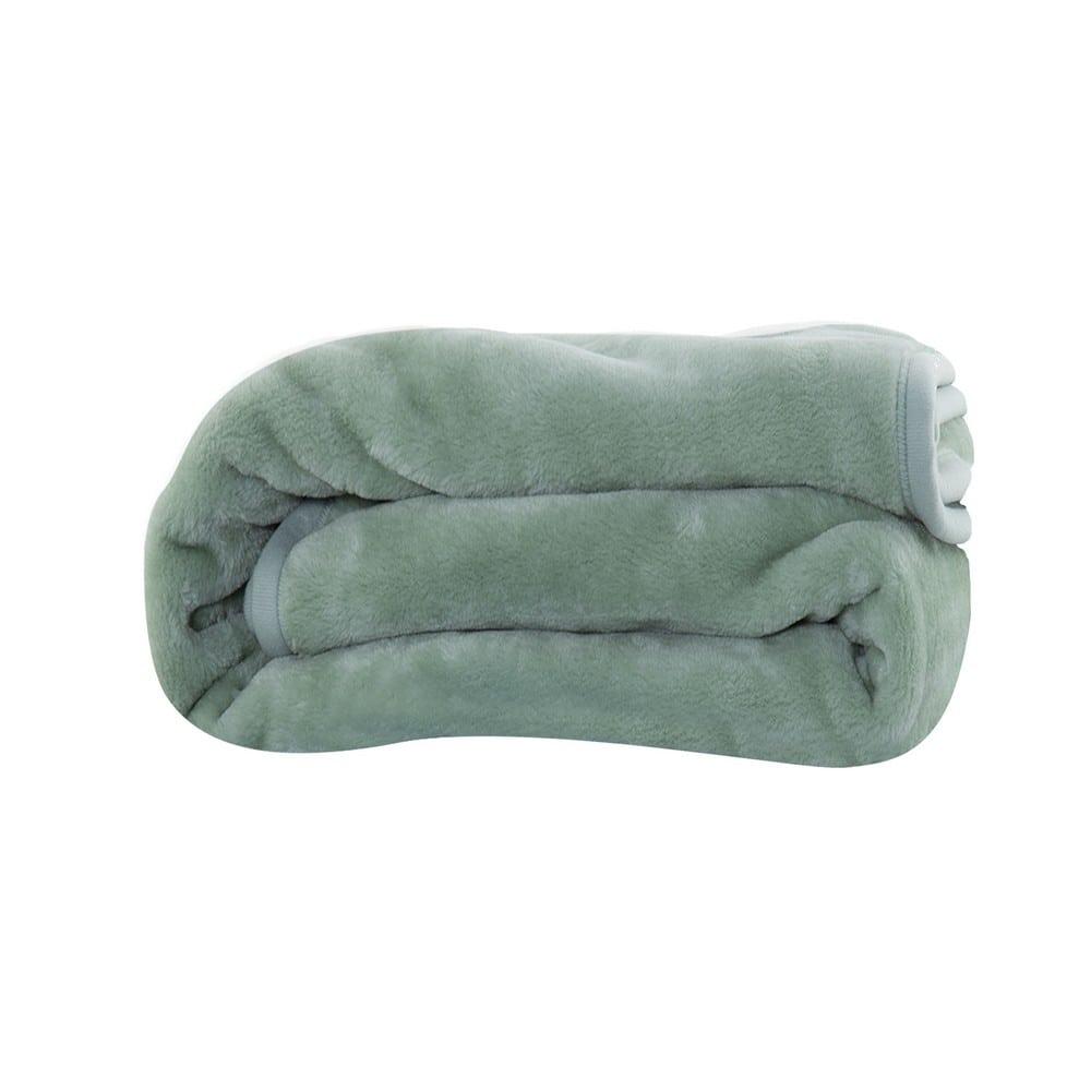 Κουβέρτα Loft 1143-Green Nef-Nef Μονό 160x220cm