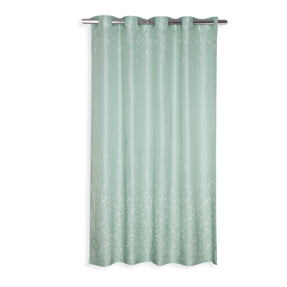 Κουρτίνα Μπάνιου Chrystabel Green Nef-Nef Φάρδος 180cm 180x200cm
