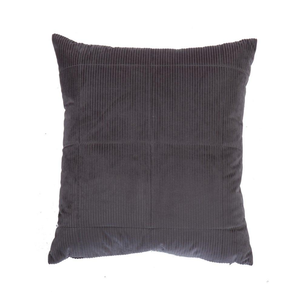 Μαξιλάρι Διακοσμητικό (Με Γέμιση) Kotler Anthracite Nef-Nef 45X45 100% Polyester