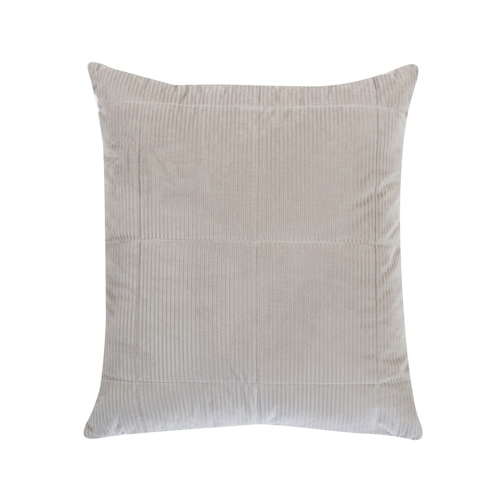 Μαξιλάρι Διακοσμητικό (Με Γέμιση) Kotler Silver Nef-Nef 45X45 100% Polyester