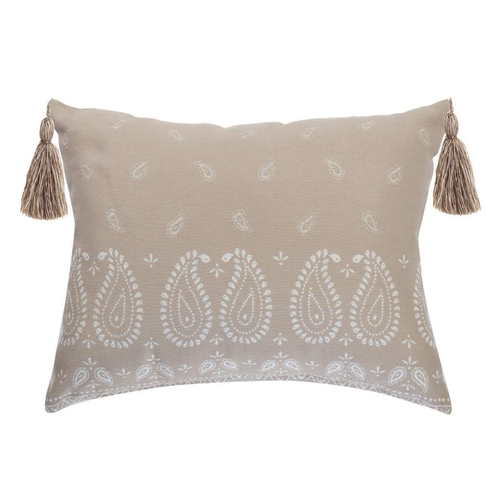 Μαξιλάρι Διακοσμητικό (Με Γέμιση) Panter Ecru Nef-Nef 40Χ60 Βαμβάκι-Polyester