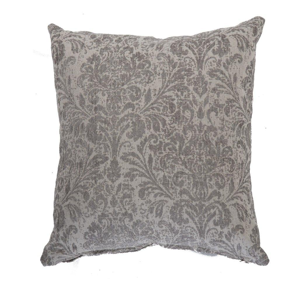 Μαξιλάρι Διακοσμητικό (Με Γέμιση) Prince Grey Nef-Nef 50X50 Βαμβάκι-Ακρυλικό