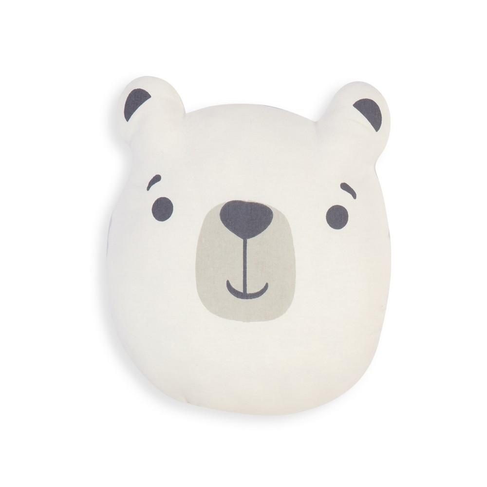 Μαξιλάρι Διακοσμητικό (Με Γέμιση) Παιδικό Bear Beige 40X38 Nef-Nef 40Χ40 40x38cm