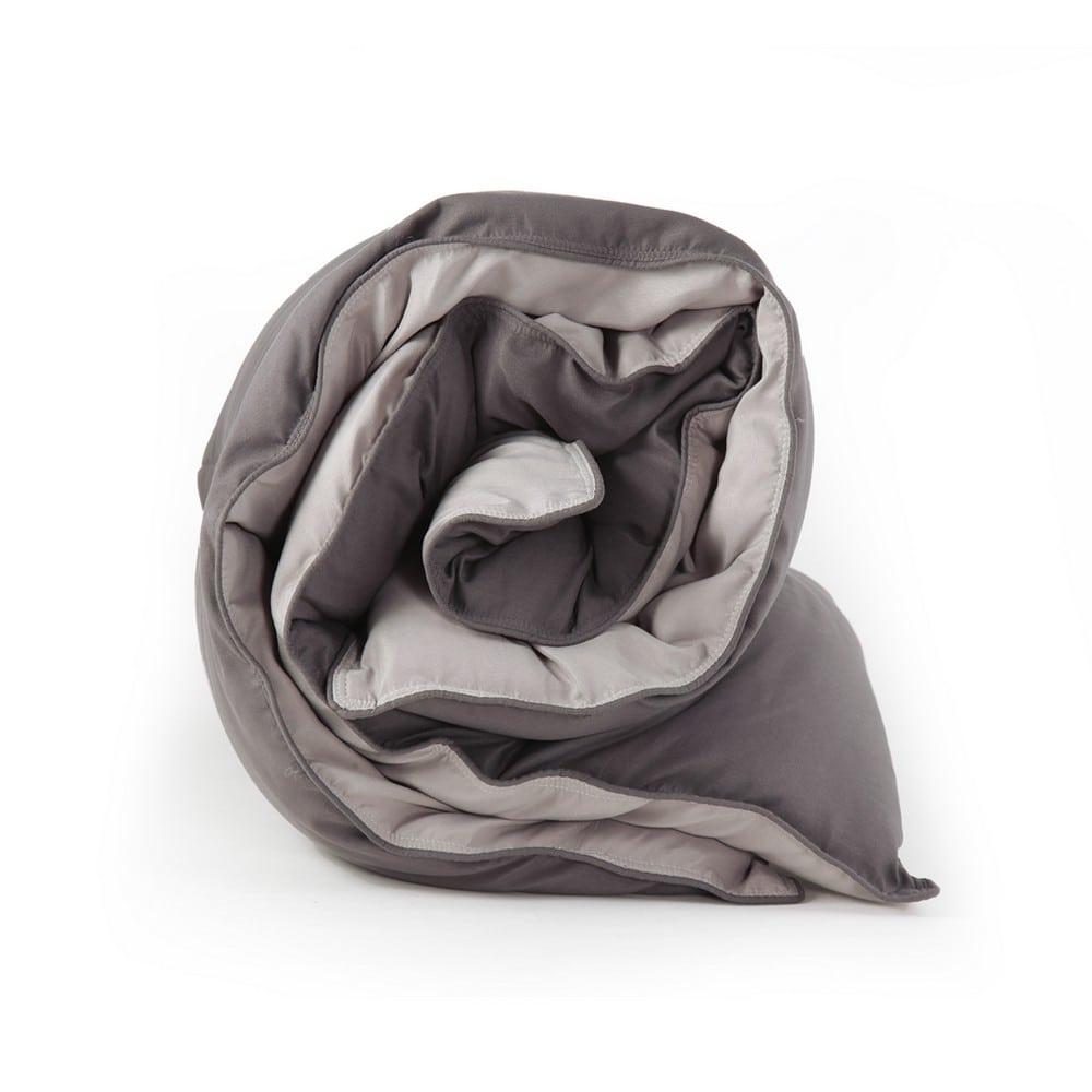 Πάπλωμα Bicolor-21 Dark Grey-Light Grey Nef-Nef King Size 260x240cm