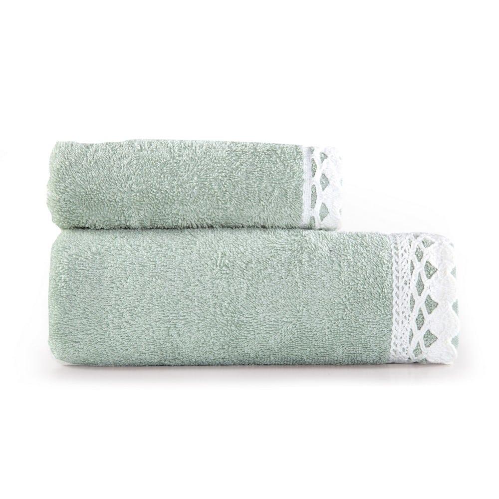 Πετσέτα Crochet Σετ 2τμχ 1118-Pistachio Nef-Nef Σετ Πετσέτες 50x90cm