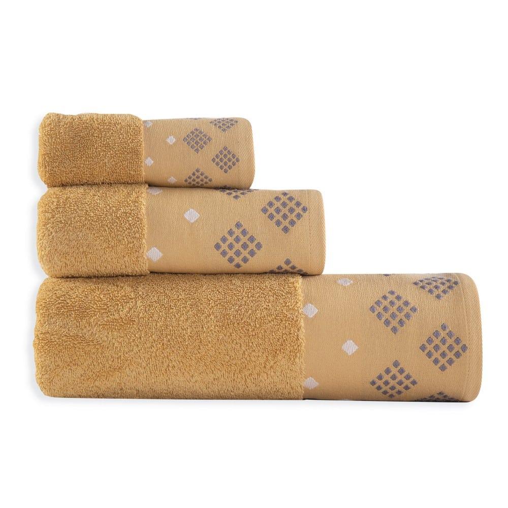 Πετσέτα Infinity Mustard Nef-Nef Προσώπου 50x90cm