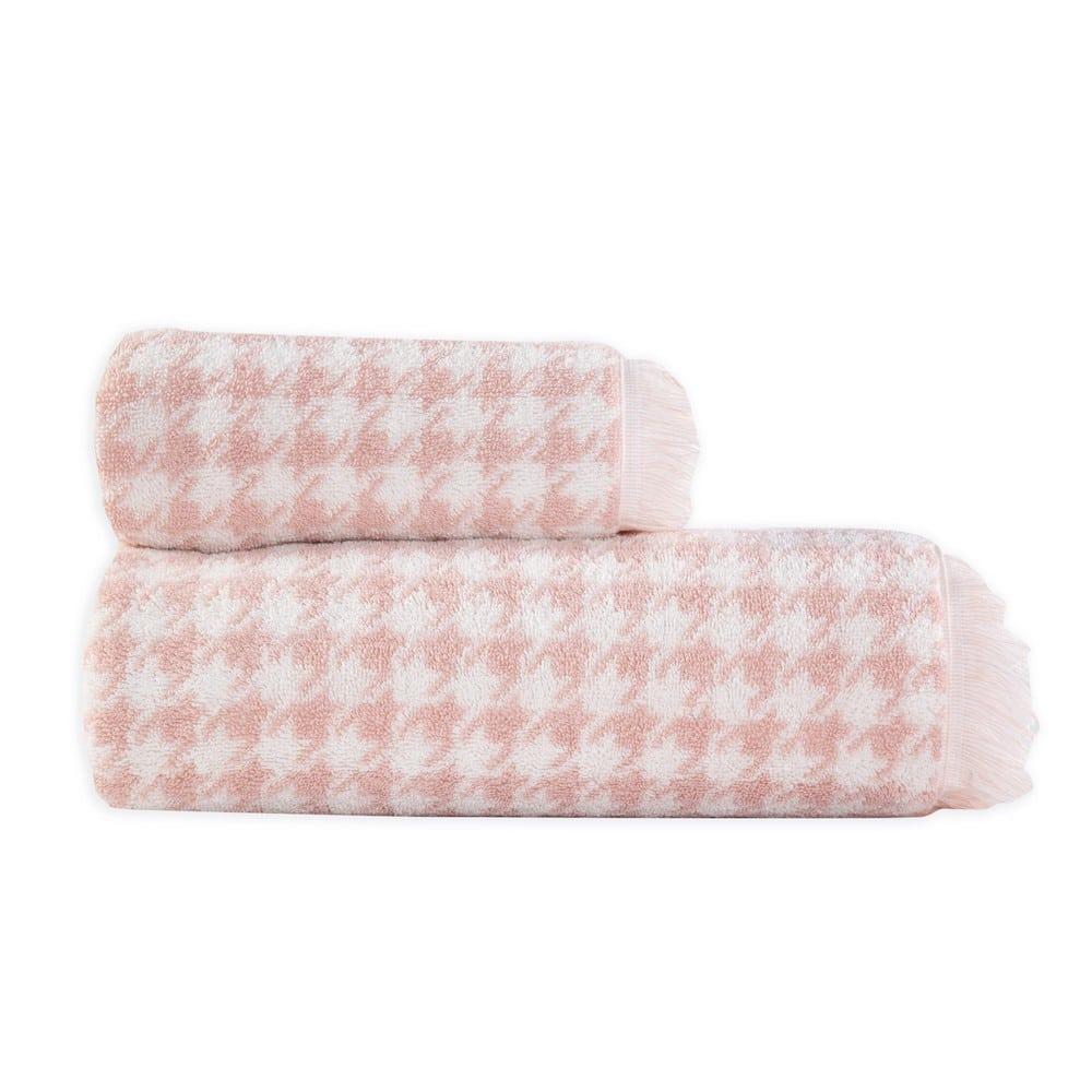 Πετσέτα Lorens Pink Nef-Nef Σώματος 70x140cm