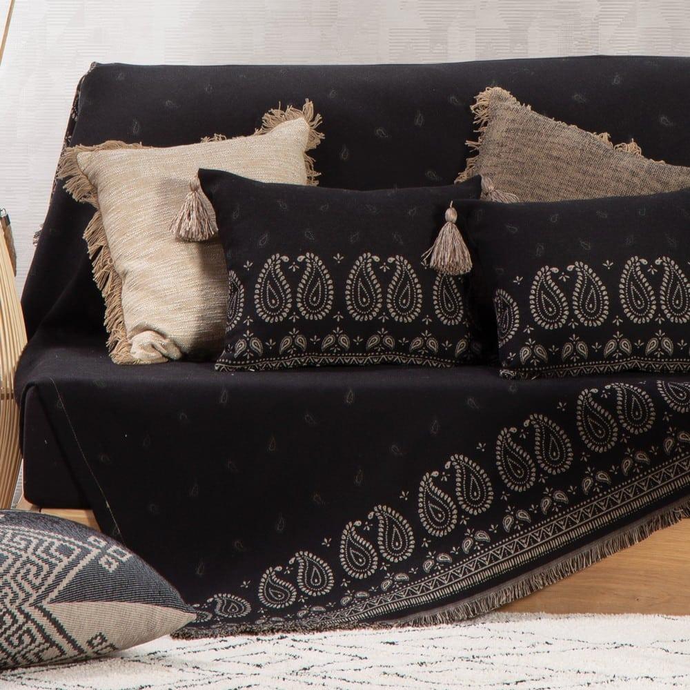 Ριχτάρι Panter Black Nef-Nef Διθέσιο 170x250cm