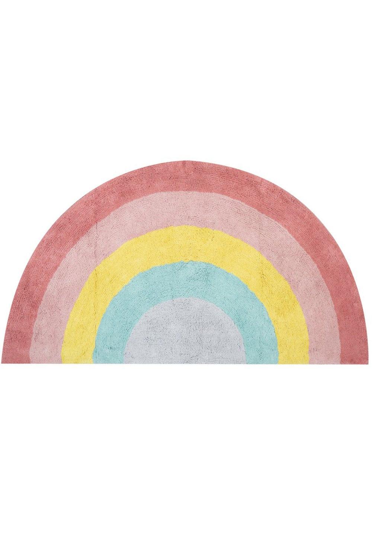 Ταπέτο Παιδικό Rainbow Pink Nef-Nef 70X150 70x140cm