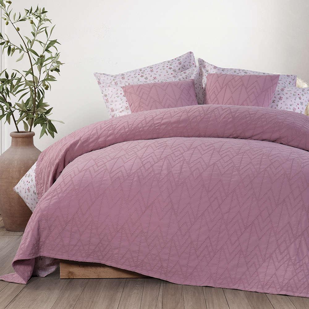 Κουβέρτα Excite Orchid Nef-Nef Υπέρδιπλo 230x250cm