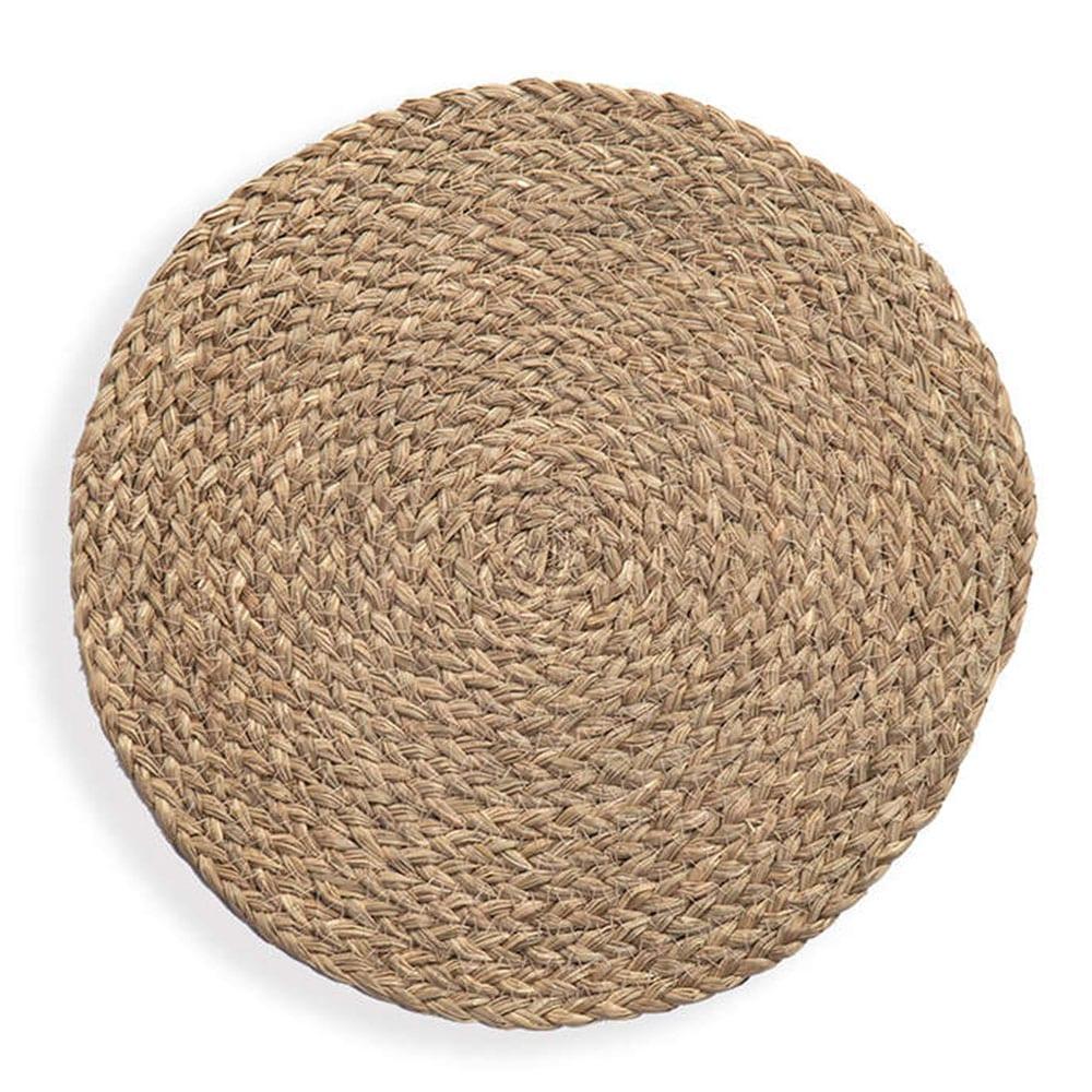 Σουπλά Seagrass Mozir Brown Nef-Nef 30x30cm
