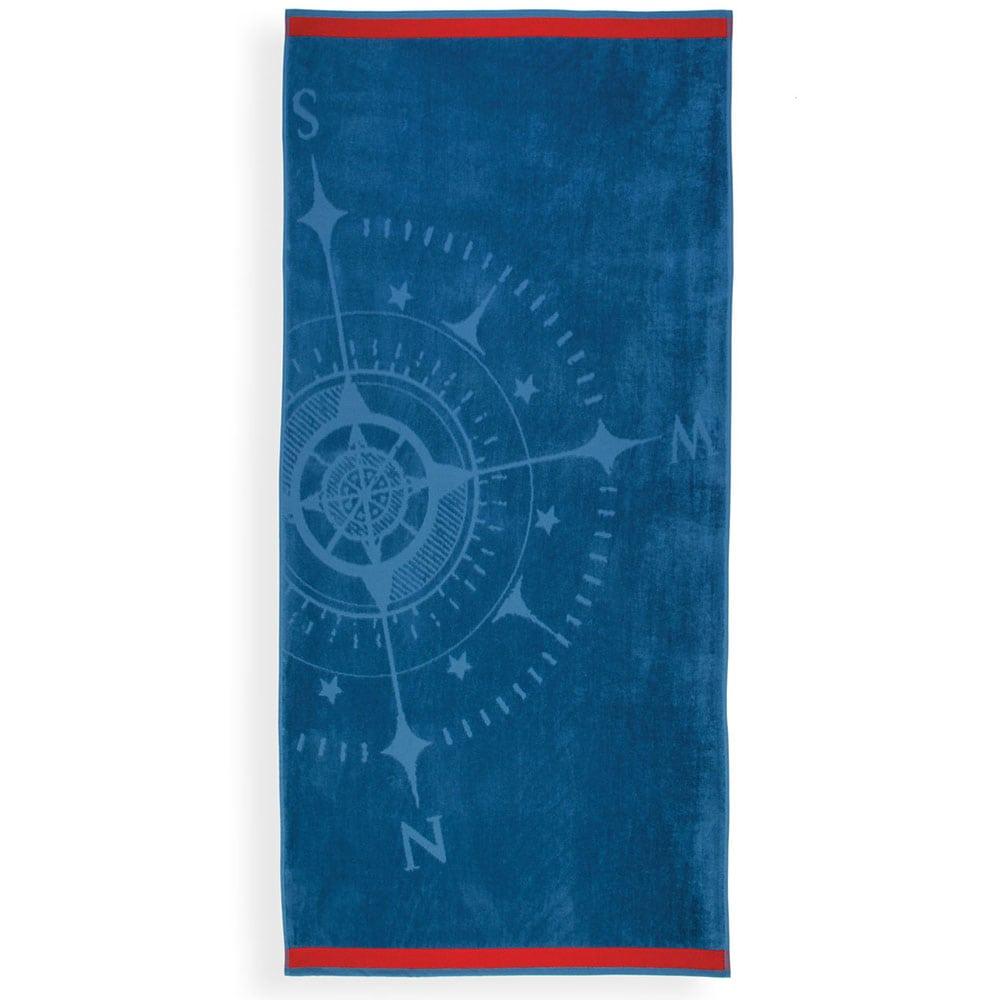 Πετσέτα Θαλάσσης Compass Blue Nef-Nef Θαλάσσης