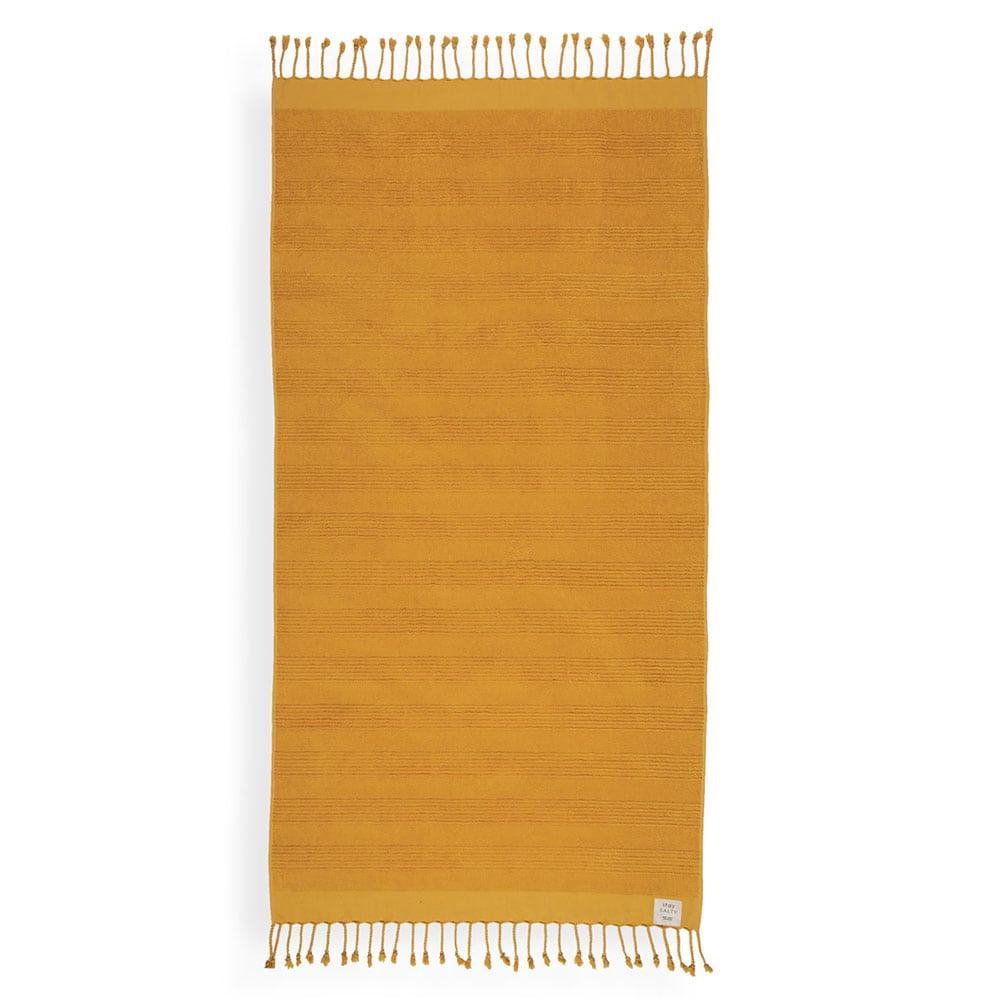 Πετσέτα Θαλάσσης Expression Yellow Nef-Nef Θαλάσσης