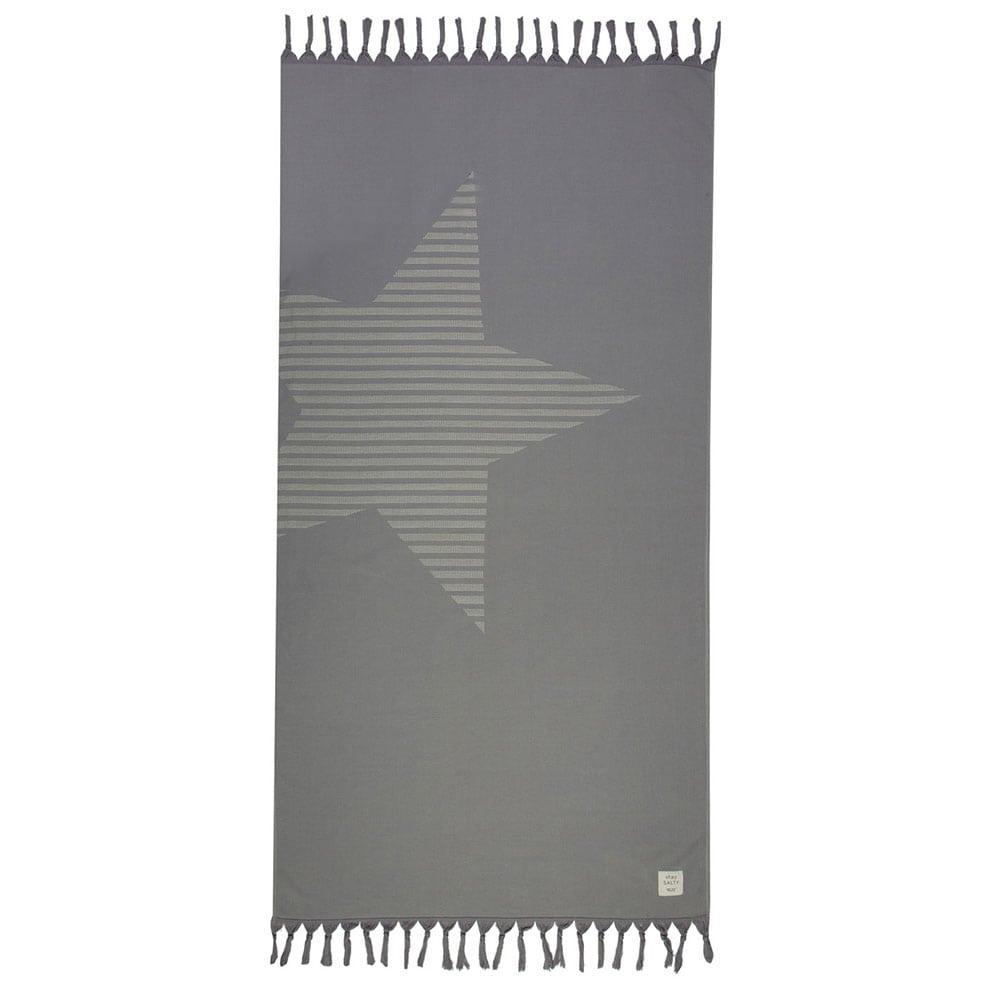 Πετσέτα Θαλάσσης Fantasia Grey Nef-Nef Θαλάσσης