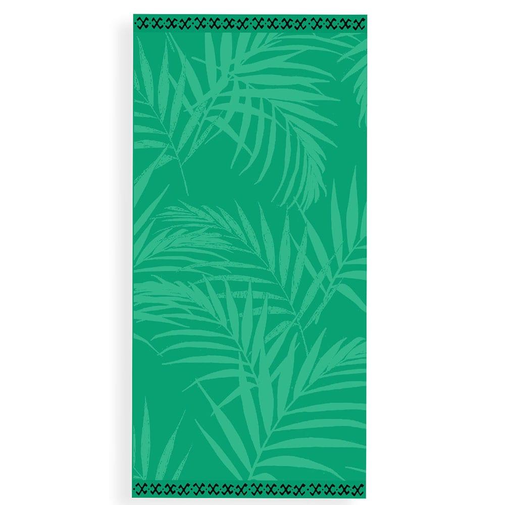 Πετσέτα Θαλάσσης Palm Leaves Green Nef-Nef Θαλάσσης