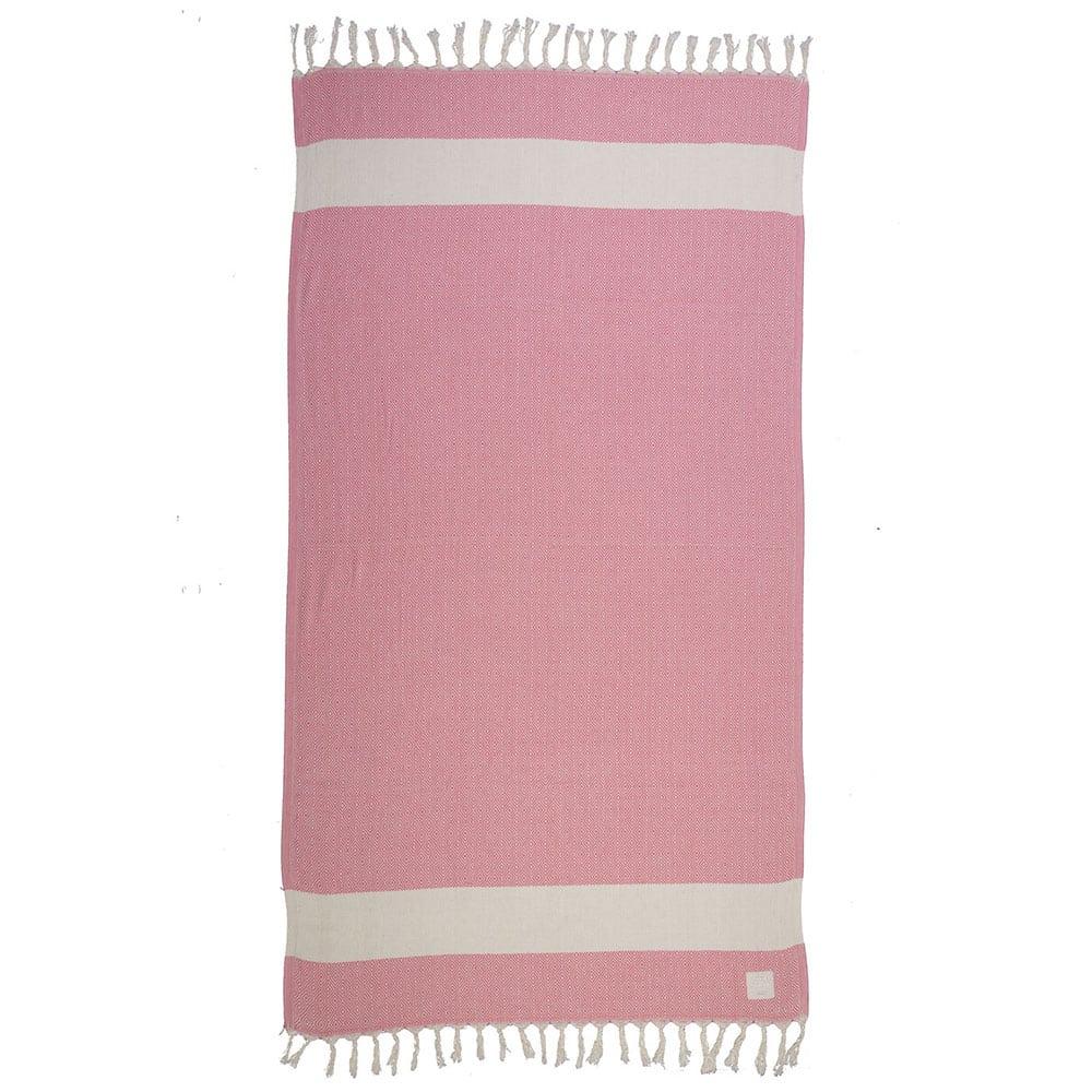 Πετσέτα Θαλάσσης Sunview Pink Nef-Nef Θαλάσσης
