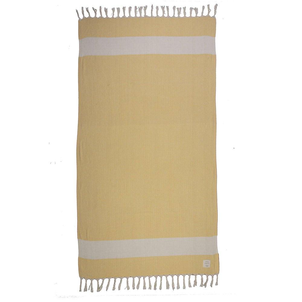 Πετσέτα Θαλάσσης Sunview Yellow Nef-Nef Θαλάσσης