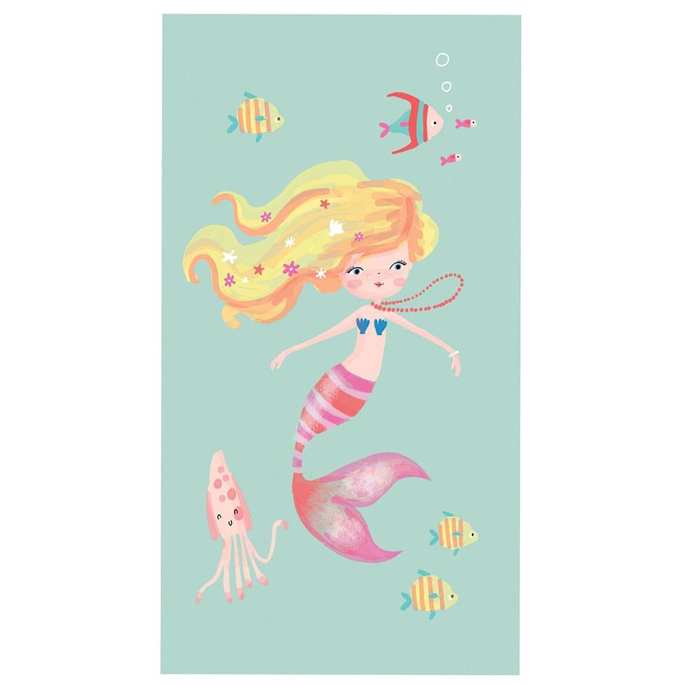 Πετσέτα Θαλάσσης Παιδική Mermaid Day Aqua Nef-Nef Θαλάσσης