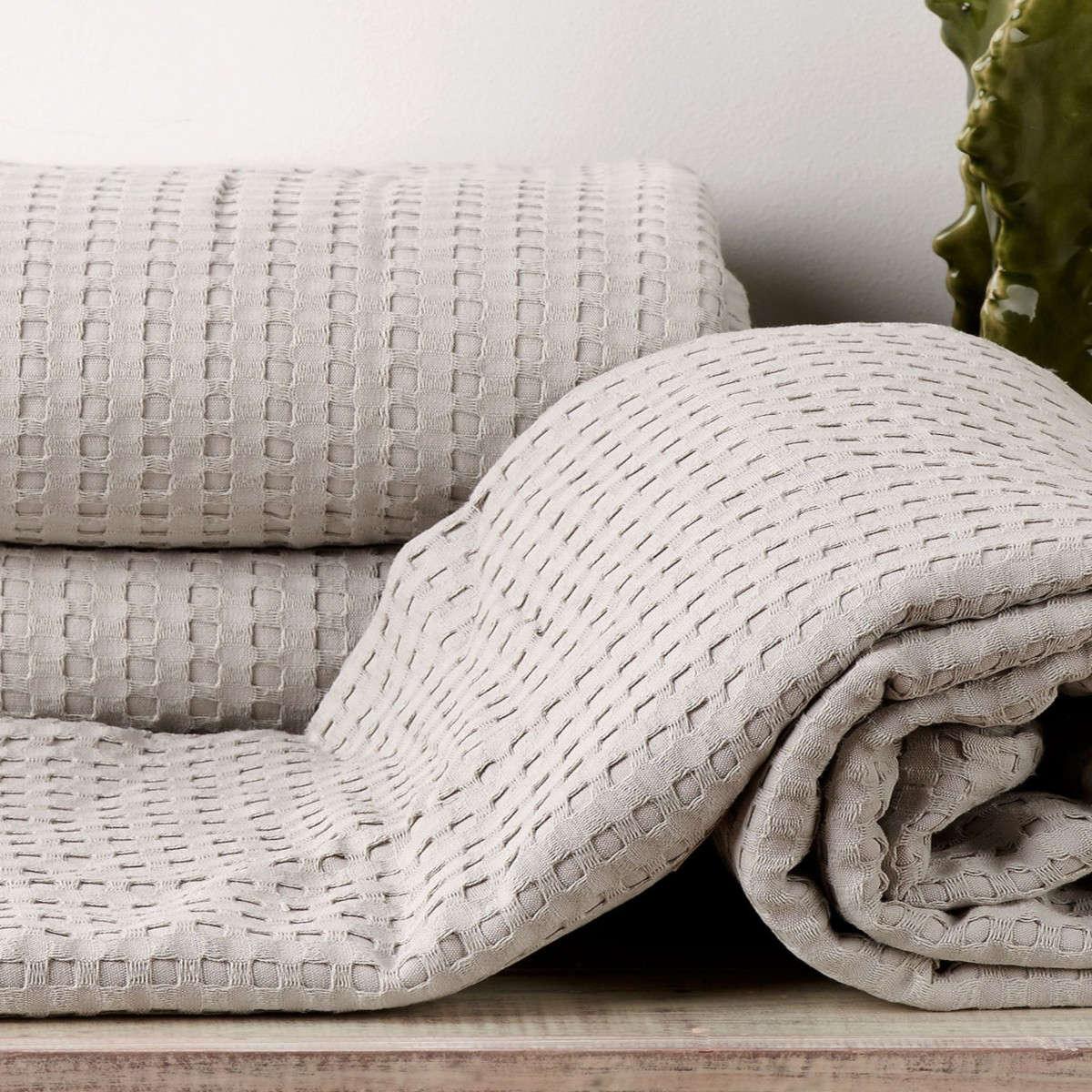 Κουβέρτα Soho 24 Grey Kentia Υπέρδιπλo 230x240cm
