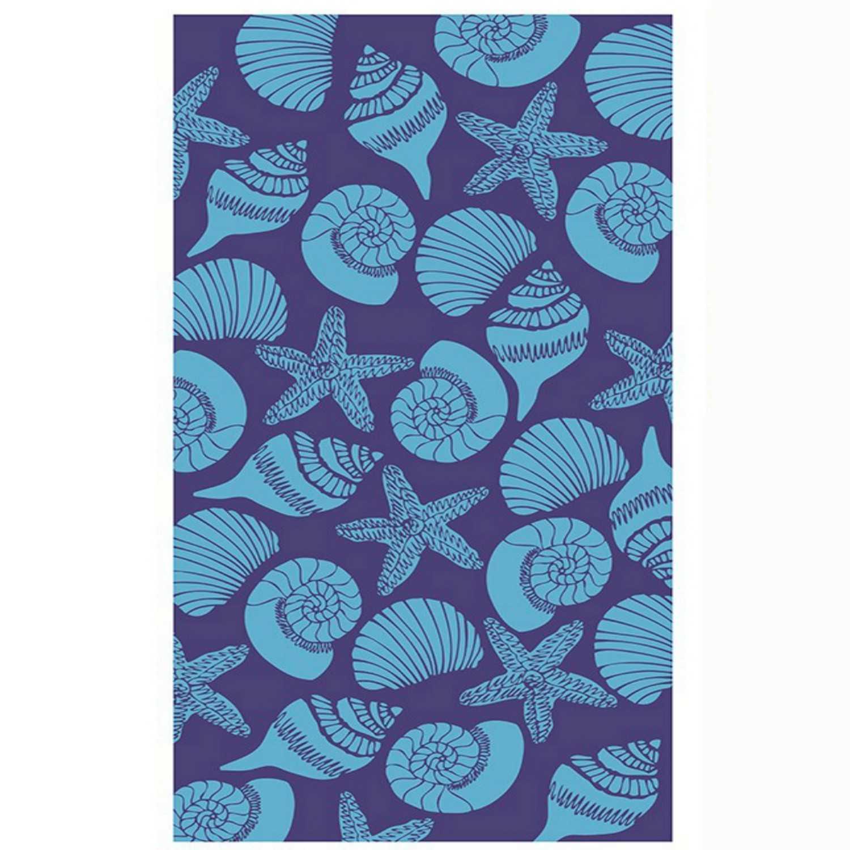 Πετσέτα Θαλάσσης Conch 42 Ciel-Purple Kentia Θαλάσσης 80x160cm