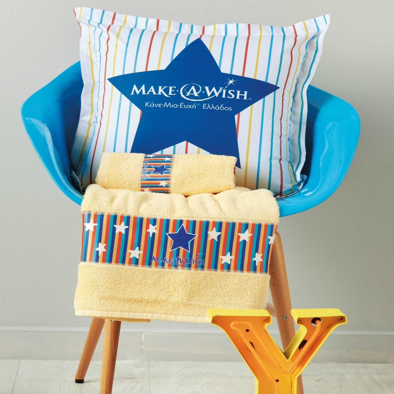 Πετσέτες Σετ 2 Τεμ. Maw 01 Make-A-Wish Multi Kentia Σετ Πετσέτες
