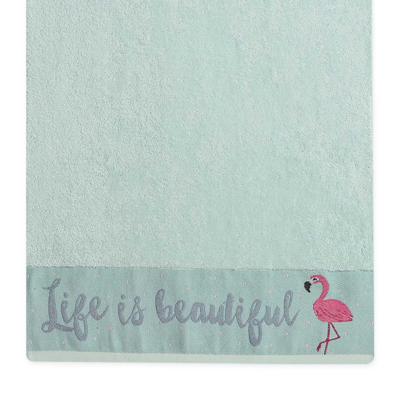 Πετσέτα Flamingo Mint Nef-Nef Σώματος 70x140cm