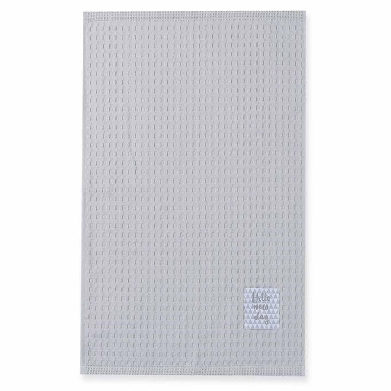 Ποτηρόπανο Πικέ Mood Grey Nef-Nef 45x68cm
