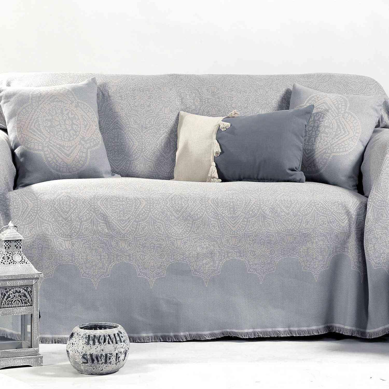 Ριχτάρι Vellore Grey Nef-Nef Διθέσιο 170x250cm