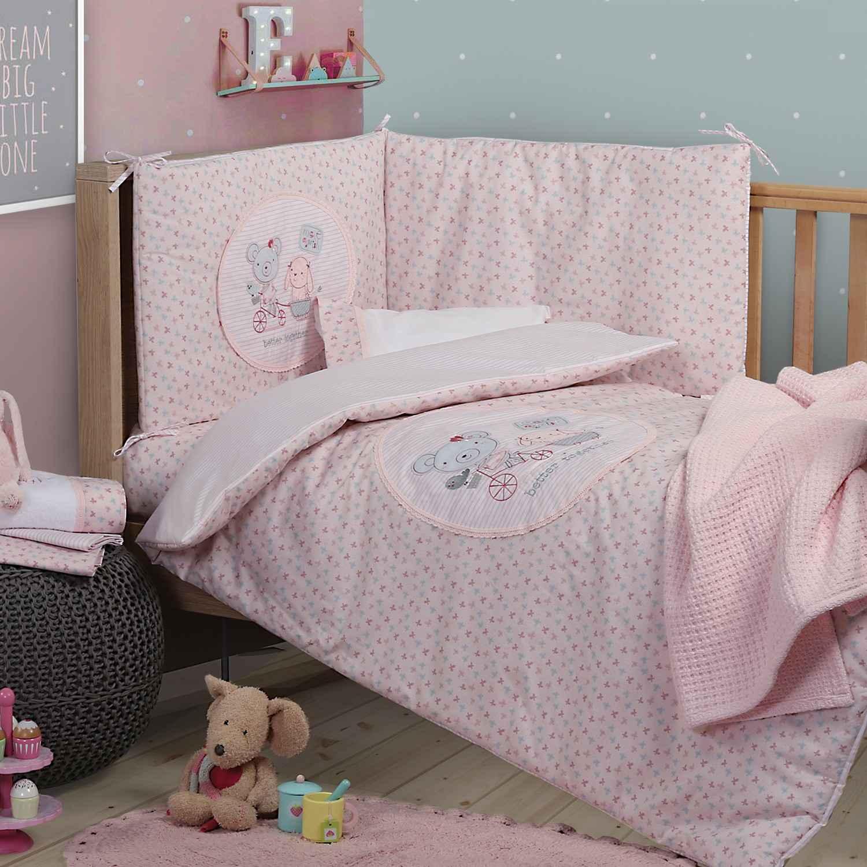 Κουβερλι Better Together Pink Nef-Nef Κούνιας 90x140cm